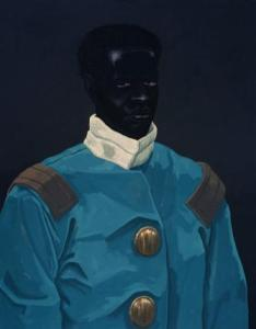 Kerry James Marshall. Believed to be a Portrait of David Walker (Circa 1830), 2009. Courtesy of The Deighton Collection, London.