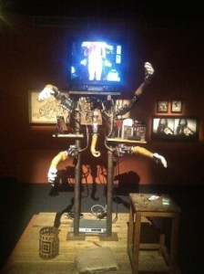 Jan Švankmajer. Image from the exhibition Metamorphosis at Barcelona's CCCB. Photo Alx Phillips.