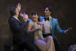 Jose Luis Martinez, Barbara Lennie and Cristobal Suarez. Photo: Eduardo Moreno