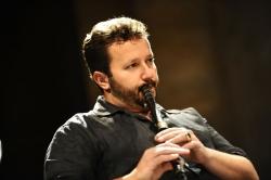 Nedyalko Nedyalkov playing the kaval // photo: David Ignaszewski