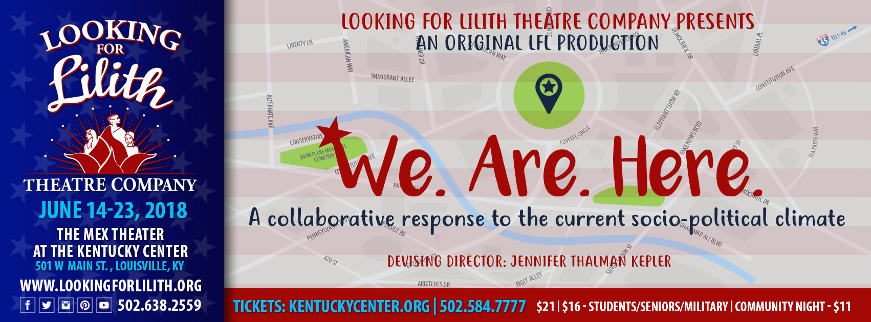LFL - We. Are. Here. - An original LFL production