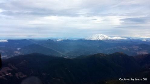 Flying Towards Mt. St. Helens (1)