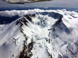 Mt. St. Helens Caldera Middle