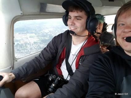 Josh Flying