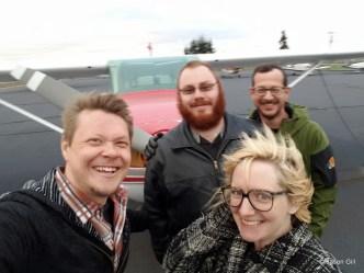 Jason, Matt, Chrissy and Michael