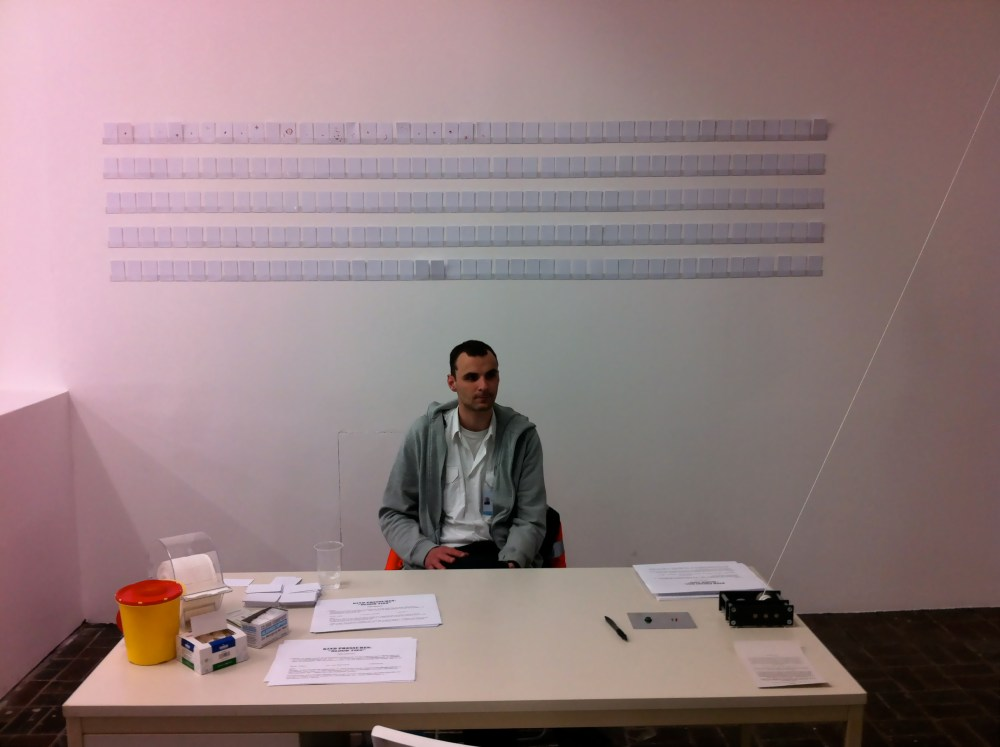 'Blood Ties', Antanas Mockus, 7th Berlin Biennale @ KW, April 26th, 2012 (2/4)