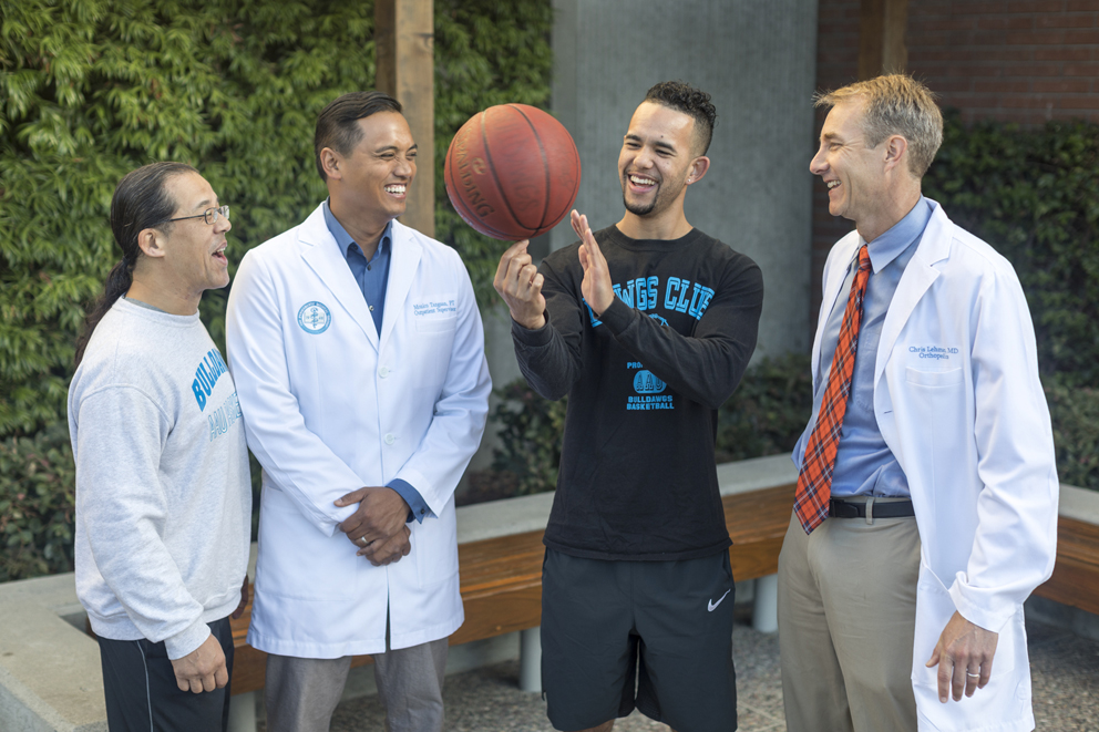 Expert Care Changes the Game for Father and Son  Kaiser Permanente Look insideKP Northern