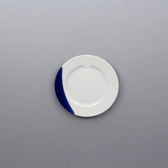 talerz 21cm touch of blue