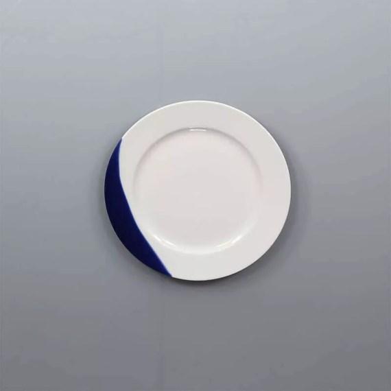 talerz 17cm touch of blue