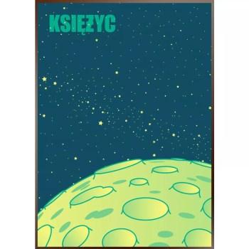 plakat ksiezyc Janek Rykiel