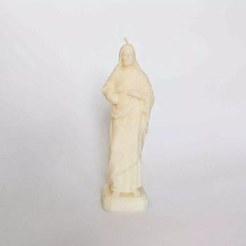 jezus świeczka biała