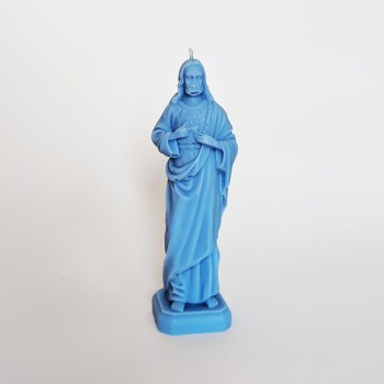 Jezus świeczka błękitna