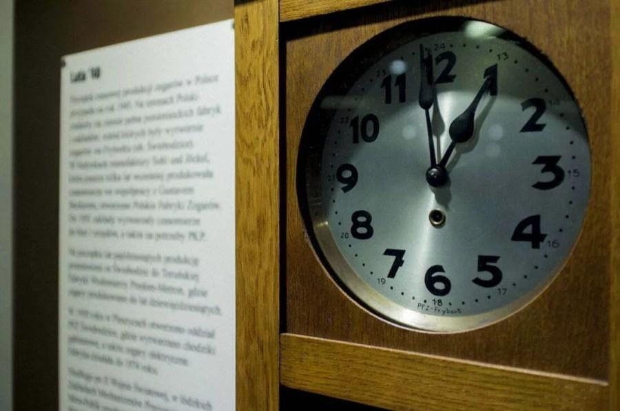 """Wystawa """"Pięć dekad zegarów"""" Frybork"""