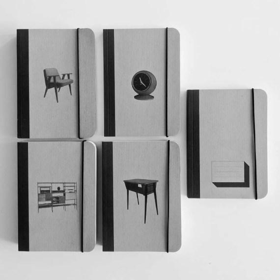 zestaw notesów kolekcjonera
