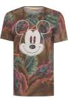 Blusa Masculina Mickey Flamingo - Verde - Água De Coco