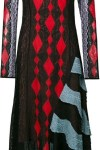 Vestido Jacquard Color Block - Peter Pilotto