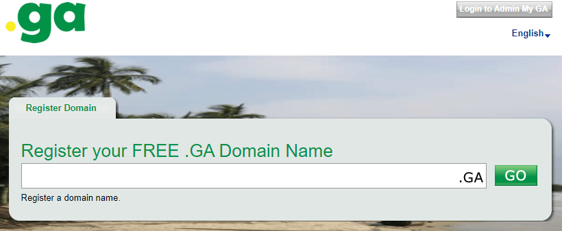 free .ga domain