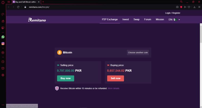 buy bitcoin on remitano