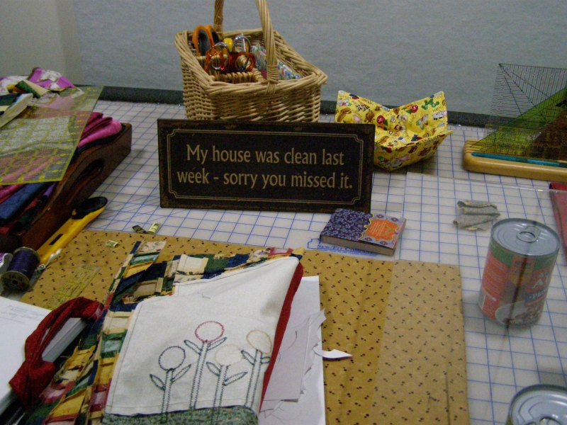 Tips and Tools Tuesday - Quilting or Cleaning, Which Would You Rather Do?