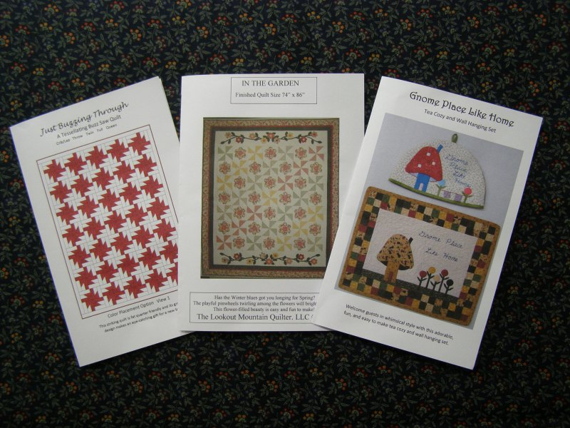 Printed Versions of My Patterns are Now Available! Plus, now you can make Just Buzzing Through in more sizes!  Woohoo!