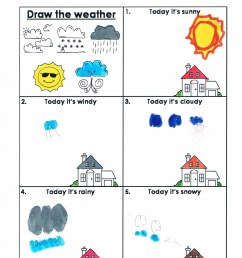 Weather Worksheets Grade 1   Printable Worksheets and Activities for  Teachers [ 3437 x 2410 Pixel ]