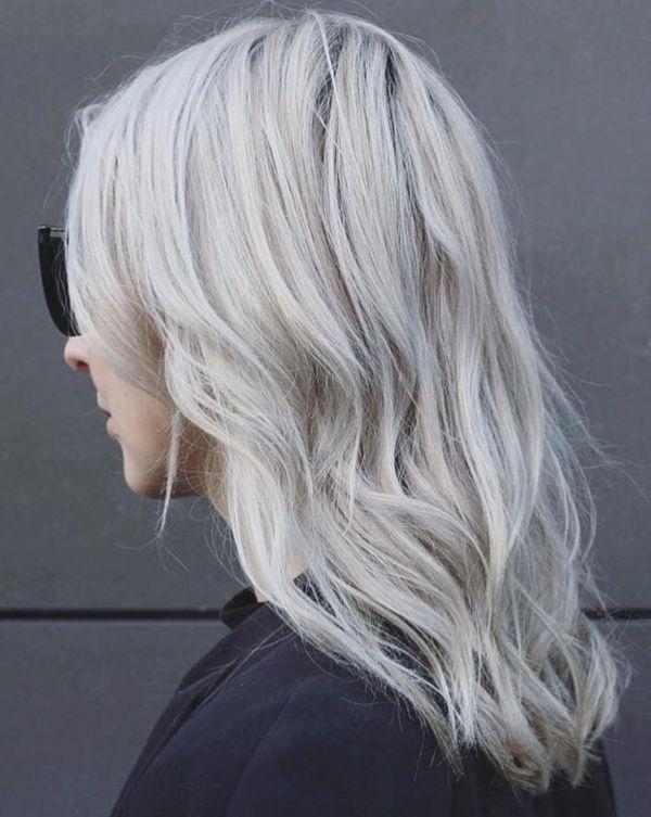 жемчужно пепельный цвет волос