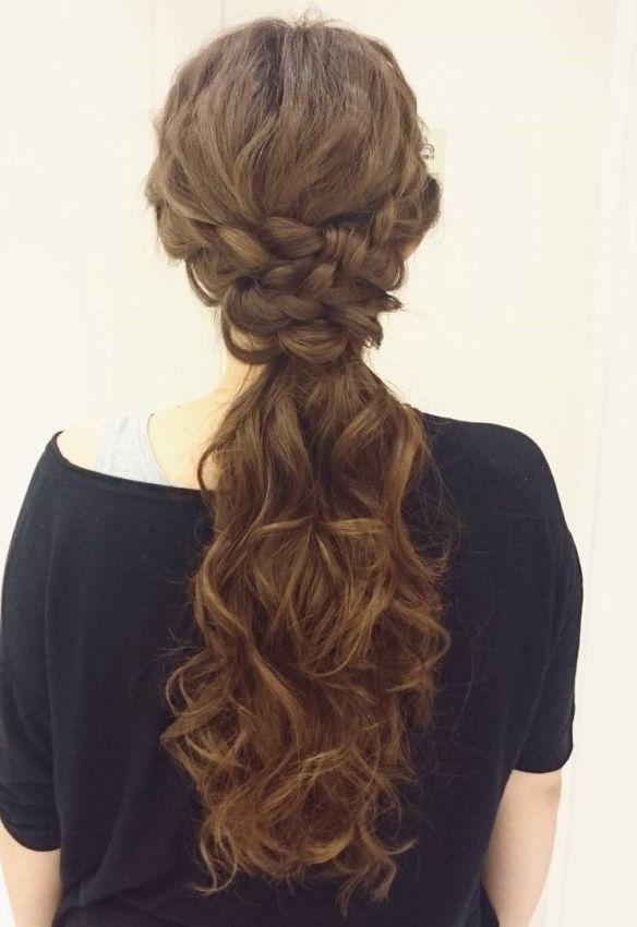 прически на длинные тонкие волосы фото