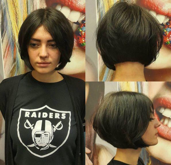 стрижки на короткие волосы для овального лица