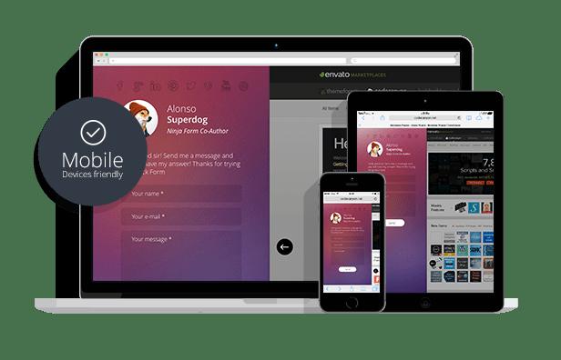WordPress Contact Form Plugin — Ninja Kick - 1