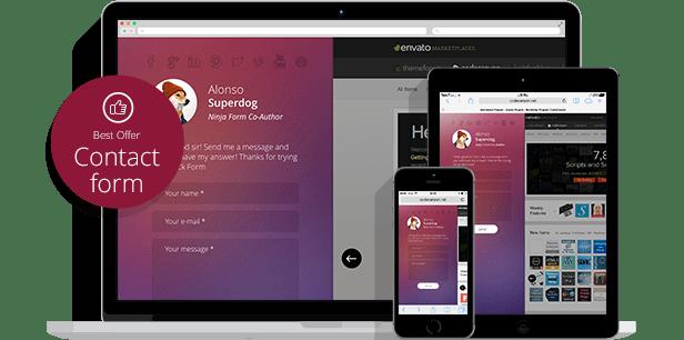 WordPress Off-Canvas Sliding Panel — Ninja Kick - 3