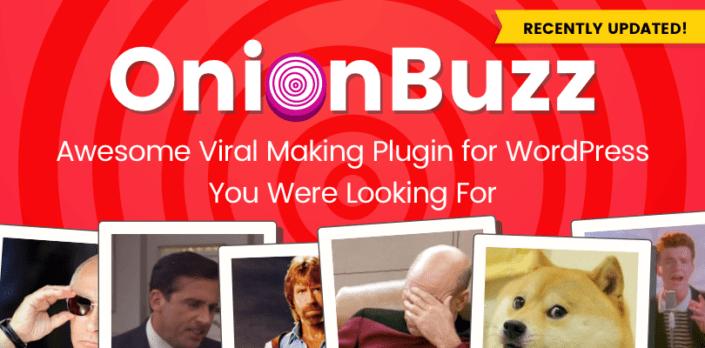 OnionBuzz Viral Quiz Plugin for WordPress