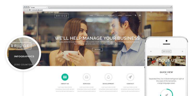 Bridge — Creative Multi-Purpose WordPress Theme