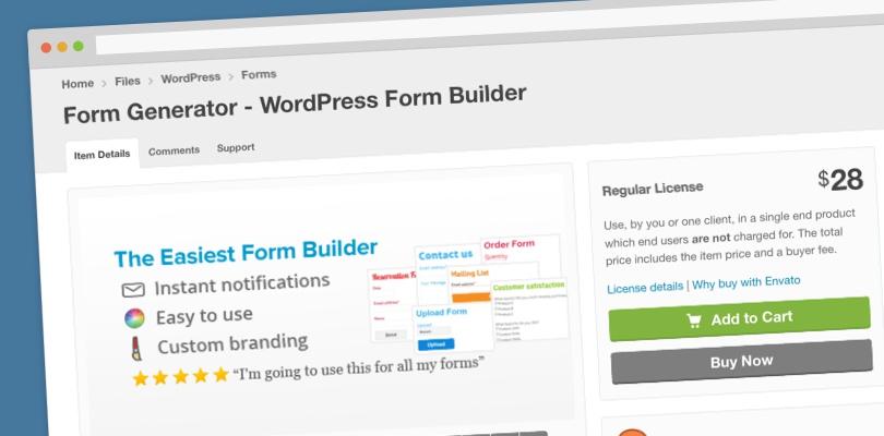 wordpress generate pdf from form