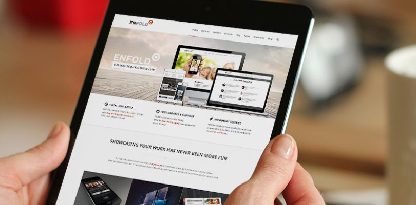 Enfold WordPress Theme responsive design