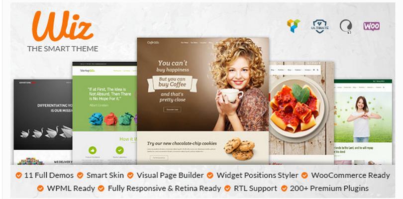 Wiz - Multipurpose WordPress Theme