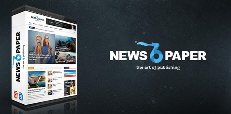 Newspaper — Premium WordPress Theme