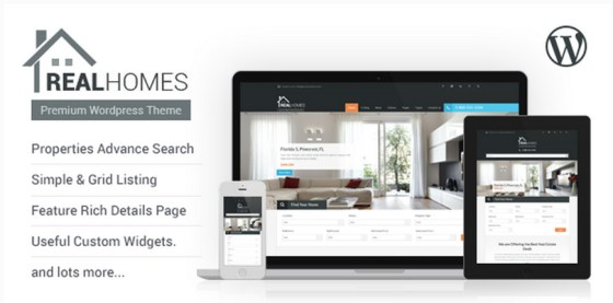 Real Homes — Real Estate Theme for WordPress