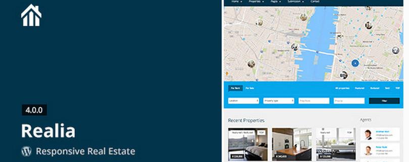 Realia —WordPress Real Estate Theme
