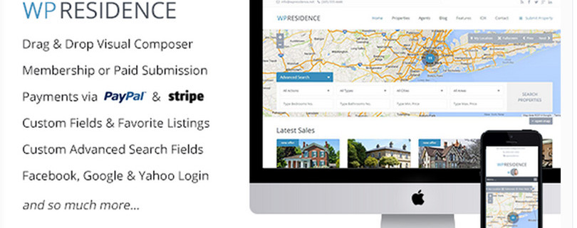 WP Residence — WordPress Real Estate Theme