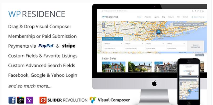 WP Residence — WordPress Real Estate Theme