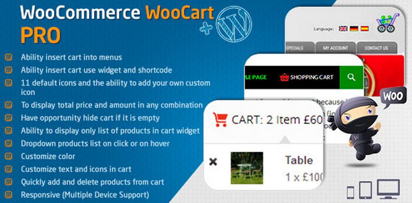 WooCommerce Cart — WooCart Pro