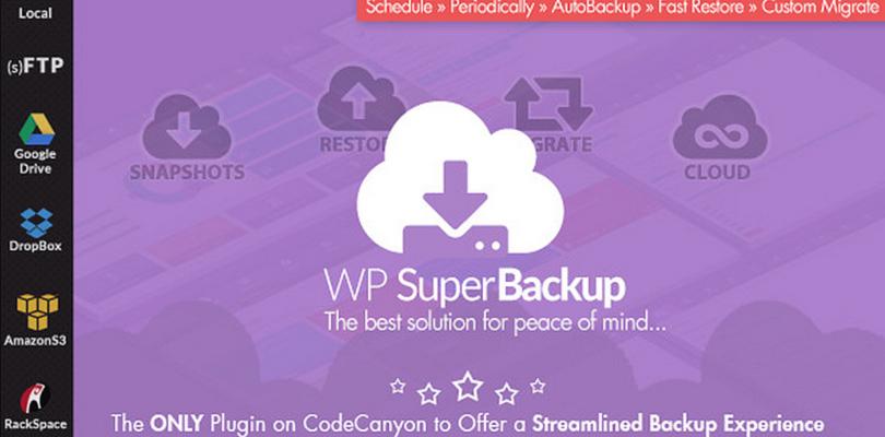 Super Backup & Clone — Migrate for WordPress