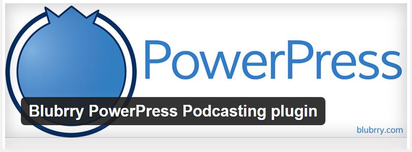 Blubrry Podcasting plugin for WordPress
