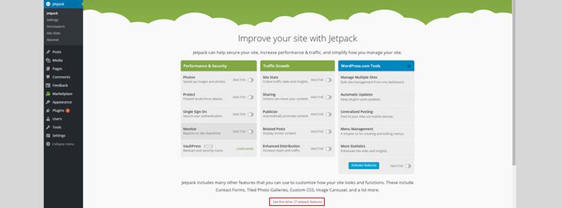 Jetpack screen