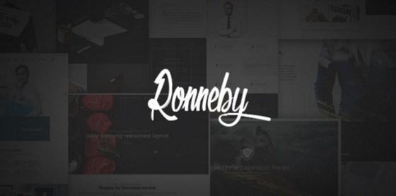 Ronneby|High-Performance WordPress Theme