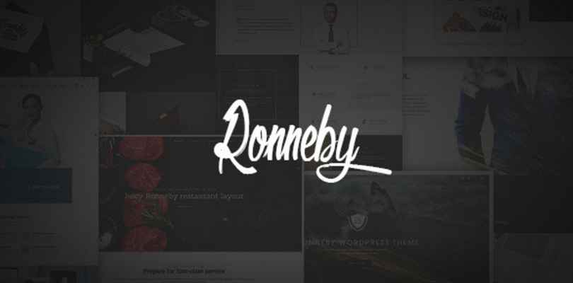Ronneby|High-Performance WordPress Theme
