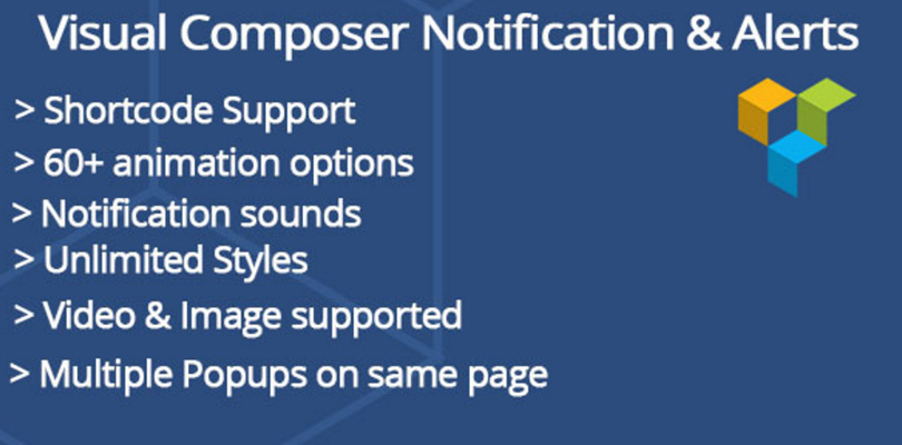 Visual Composer Notifications & Alerts