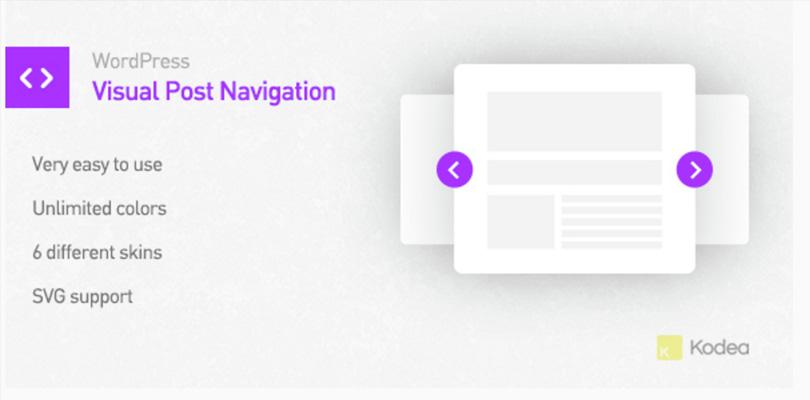 Visual Post Navigation for WordPress