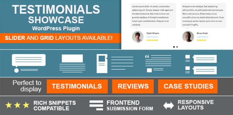 Testimonials Showcase — WordPress Plugin