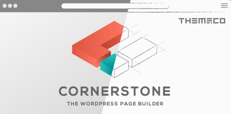 Cornerstone Frontend WordPress Page Builder